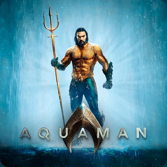 Foto de Aquaman para ingresar a ver video animado
