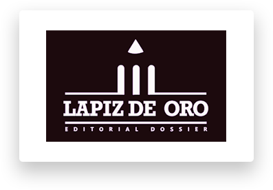 Logo de Premio Lapiz de Oro