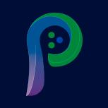 Logo de Pier 3 Agency en un recuadro con fondo azul oscuro