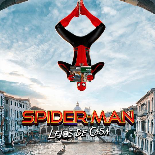 Spider-Man botón para ver video